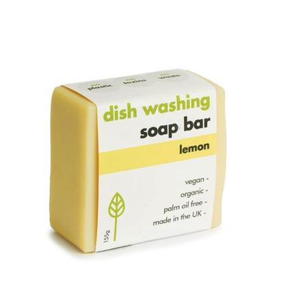 Washing-Up Soap Bar - Lemon - Purpledaisy At Home