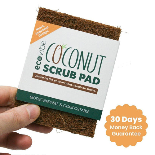 Durable Coconut Fibre Scrub Pad - Purpledaisy At Home