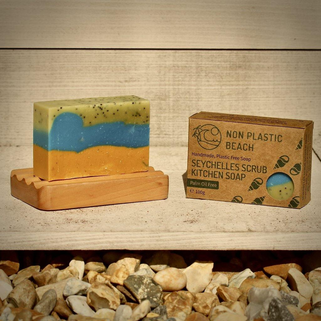 Seychelles Scrub - Handmade Soap (Palm Oil Free) - Purpledaisy At Home