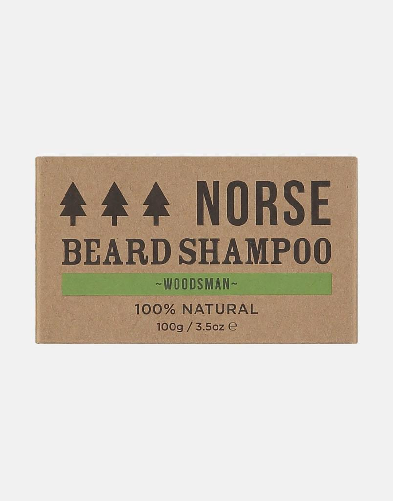 Beard Shampoo by Norse (Woodsman Scented) - Purpledaisy At Home
