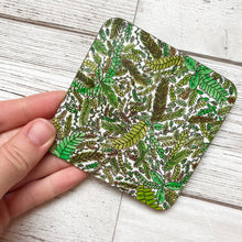 Load image into Gallery viewer, Leaf pattern coasters of varying designs