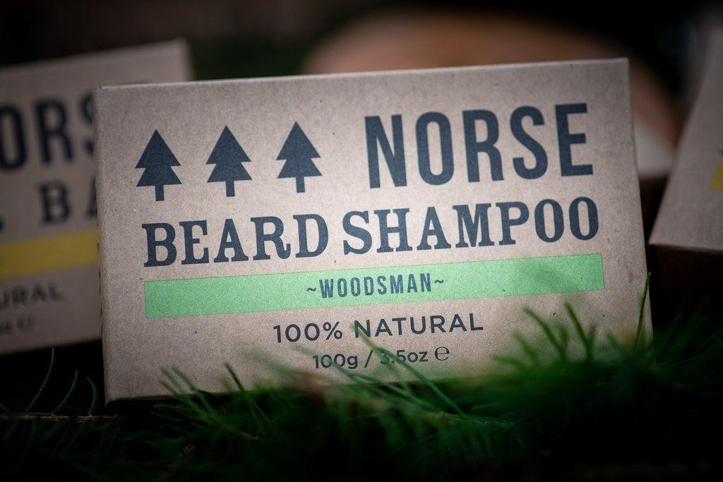 Shower Bar by Norse (Woodsman Scented) - Purpledaisy At Home