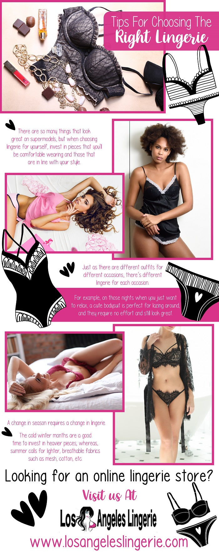here are few tips for choosing the right lingerie.