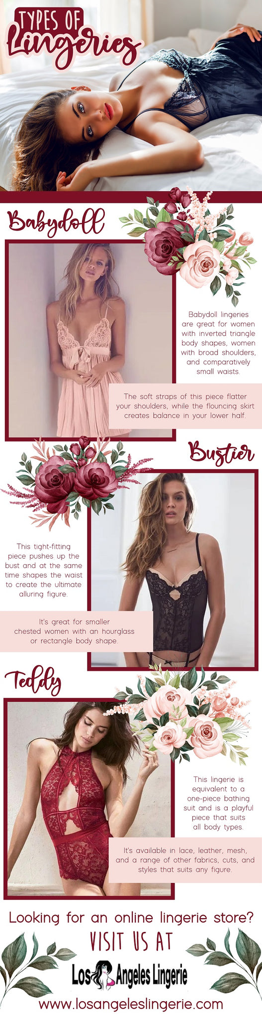 here are some type of lingeries you can buy