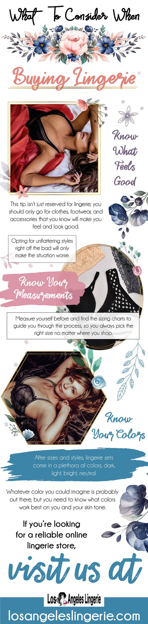 Here are few tips to remember before buying a lingerie.