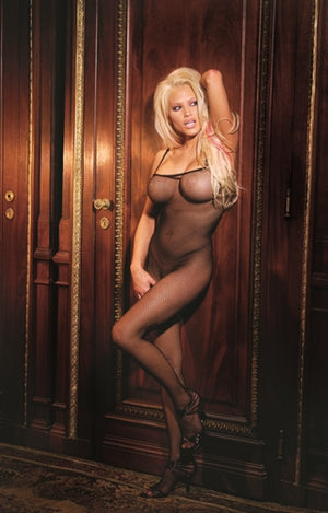 Fishnet Body Stocking - Black EM-1605B