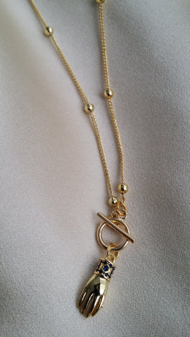 The Dainty Reach Out Pendant Chain