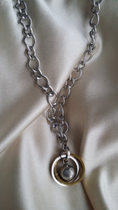 The Interlocking Sphere Pendant Chain