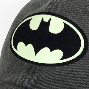 Gorra Batman Logo Glow in the Dark