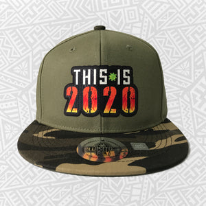 Gorra This Is 2020 Olivo Camo Plana