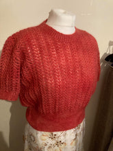 Load image into Gallery viewer, Short sleeved lacey knit Jumper