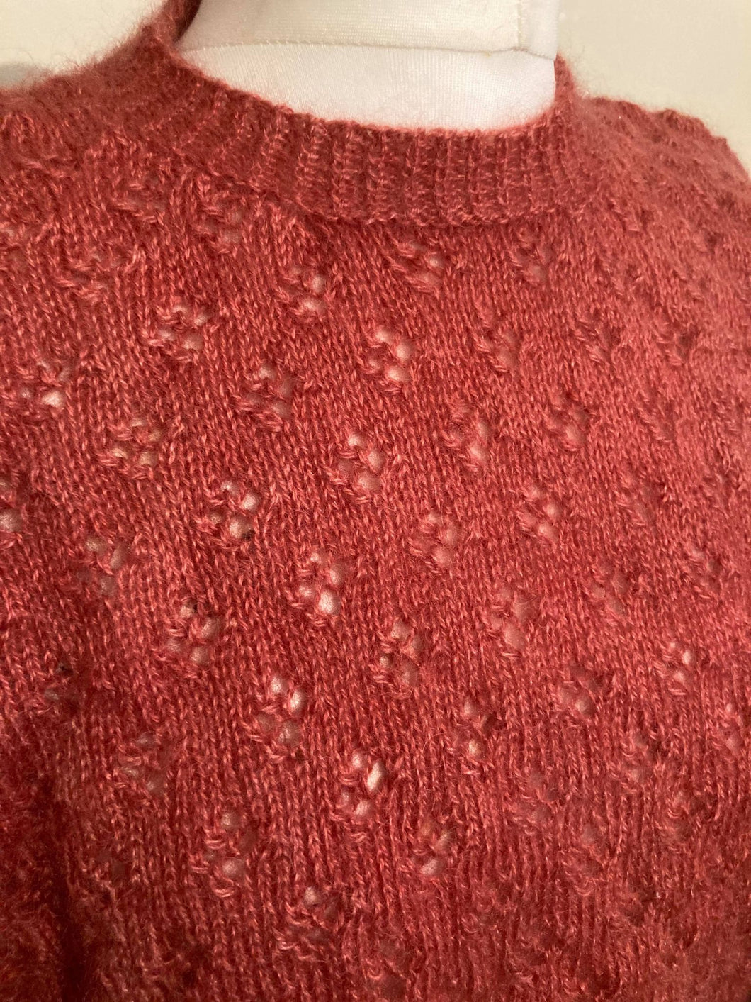Short sleeved Lacey knit Jumper