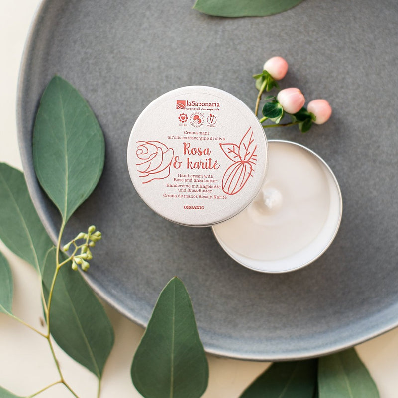 Hand cream with Rose and Shea Butter