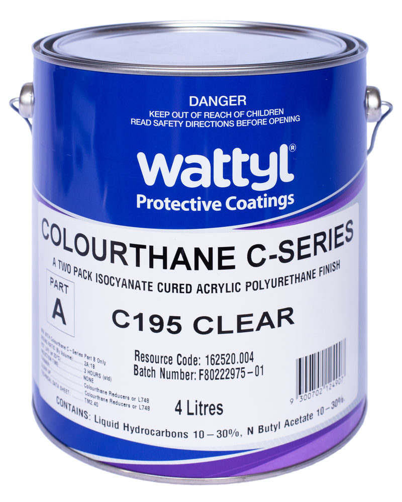 WATTYL 2k Colourthane Clear 6L Kit