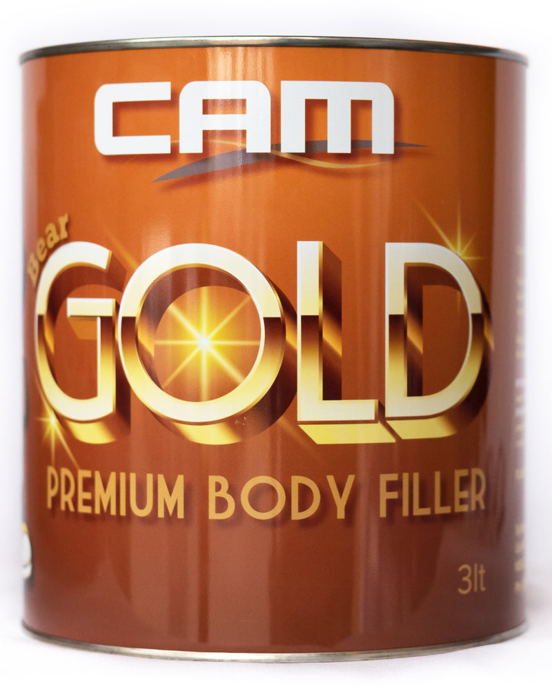 CAM Gold LightWeight body filler 3L