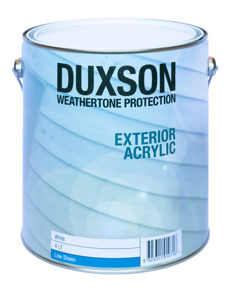 Duxson Exterior Acrylic Low Sheen White