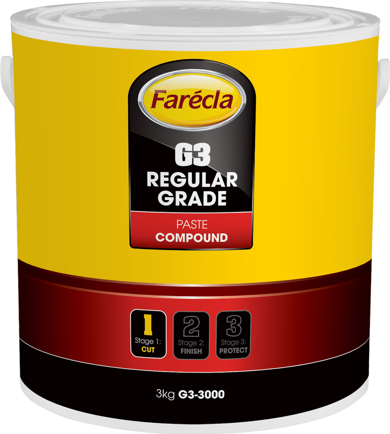 Farecla G3 Regular Grade Paste Compound 3kgs