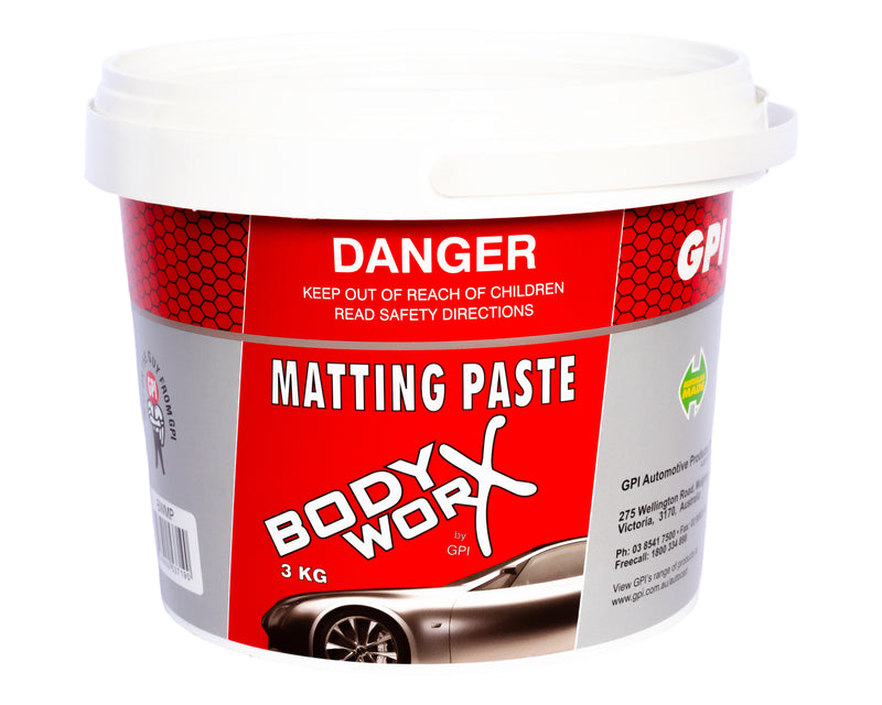 BODY-WORX Matting paste 3KG