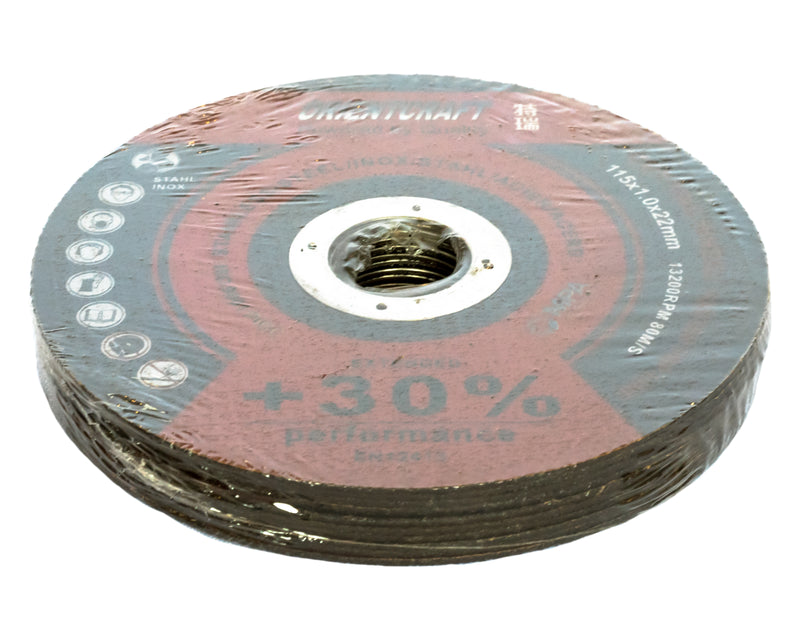Cutting Disc (105 x 1.0 x 22mm) pack of 10