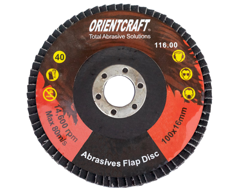 Flap Disc 4' (100mm) 80 Grit