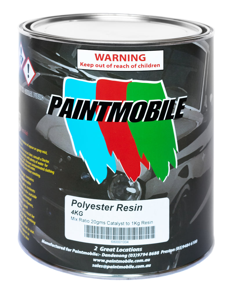 Paintmobile Polyester Resin