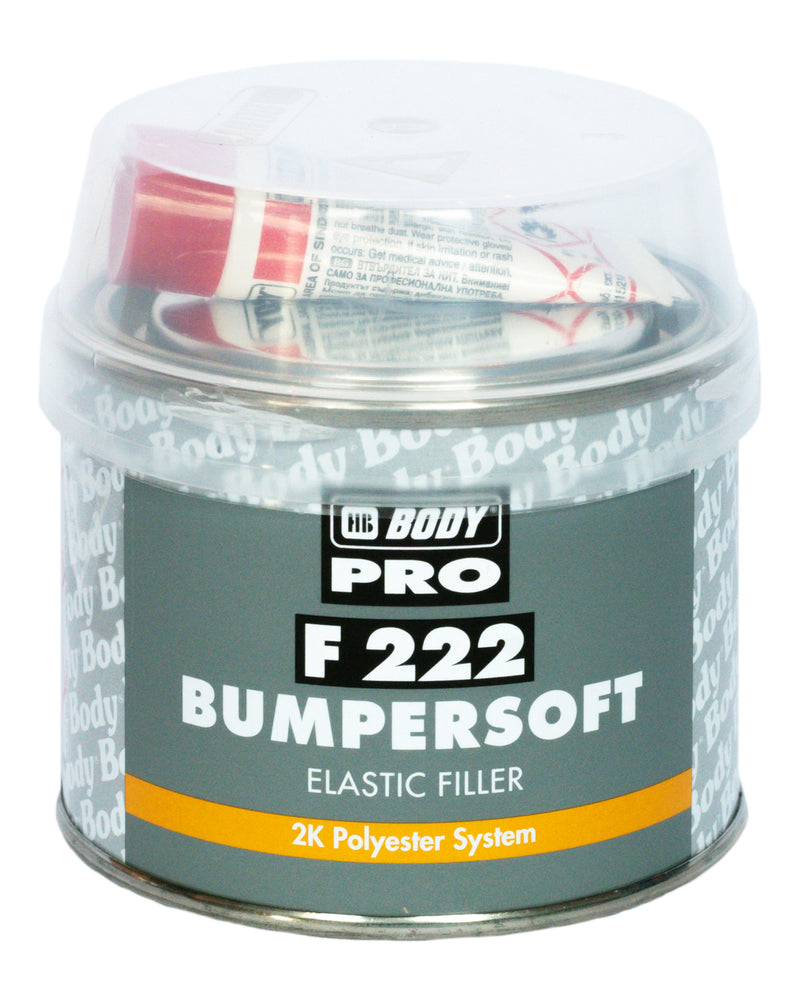 HB BODY F222 Bumpersoft elastic filler 250ml