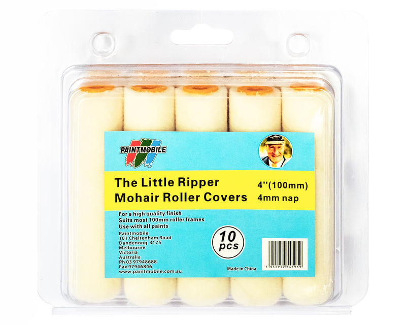 The Little Ripper Mohair Roller Cover(100mm) Pack of 10