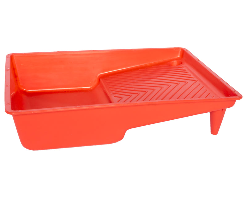 Red Plastic Paint Tray 180mm