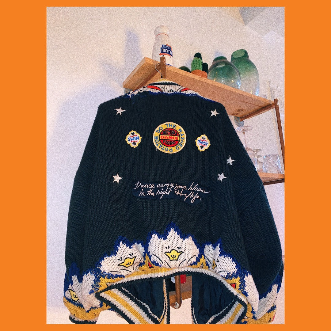 Pull Friperie Vintage Sweater