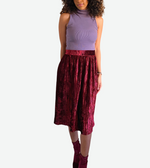 Load image into Gallery viewer, Velvet Skirt
