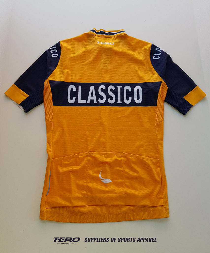 Back View, CLASSICO Mens Cycling Jersey