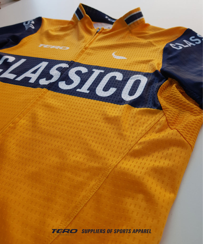 Front View, CLASSICO Mens Cycling Jersey