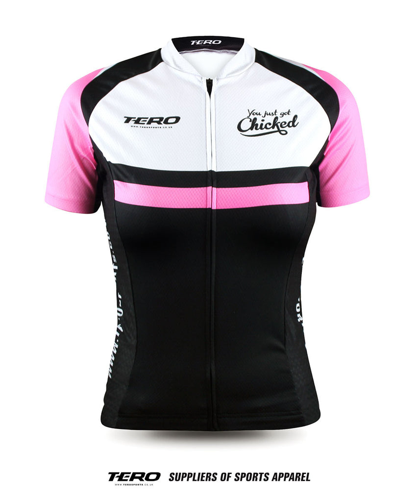 Got Chicked. Ladies Jersey