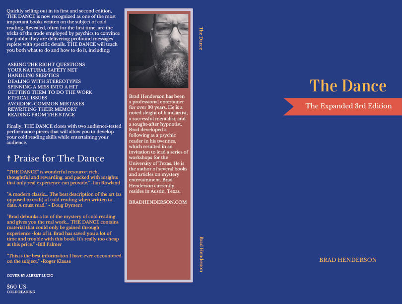 The Dance by Brad Henderson (Revised and Expanded) (Softback)