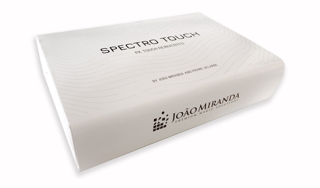 Spectro Touch (Gimmicks and Online Instructions) by João Miranda