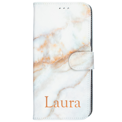 white marble leather wallet rose gold mothers day gift idea