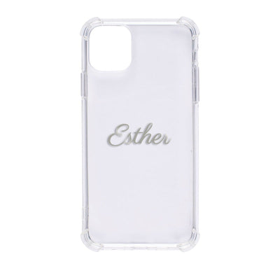 Bumper Case for iPhone 11 Pro Max (Clear) Case CUSTOMISE