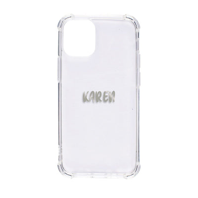 Bumper Case for iPhone 12 Mini (Clear) Case CUSTOMISE