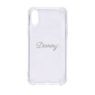 Bumper Case for iPhone X/XS (Clear) Case CUSTOMISE