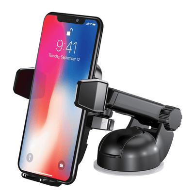 Easy One Touch Wireless Car Charging Mount Tech Accessory HT - Happytel
