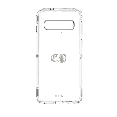 EFM Cayman D3O Case for Samsung Galaxy S10 Plus (Clear) Case CUSTOMISE