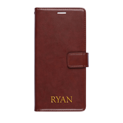 Faux Leather Wallet Case for Samsung Galaxy Note 8 Case CUSTOMISE