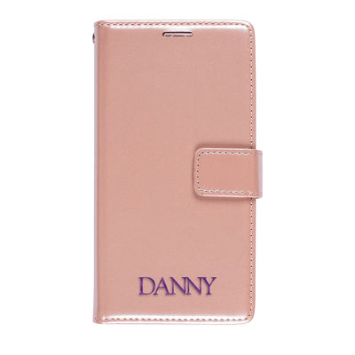 Faux Leather Wallet Case for Samsung Galaxy S10e Case CUSTOMISE