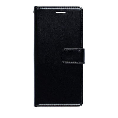 Faux Leather Wallet Case for Samsung Galaxy S9 Case Black CUSTOMISE