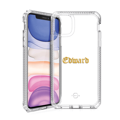 Itskins Hybrid Clear Case for iPhone 11 Case CUSTOMISE
