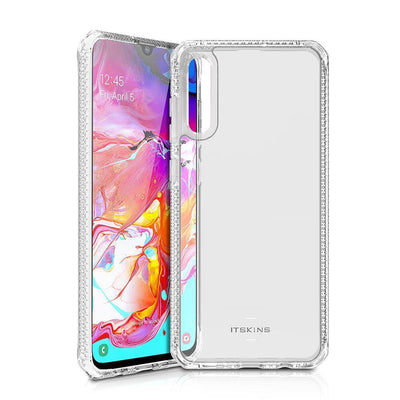 Itskins Hybrid Clear Case for Samsung Galaxy A70 Case Clear CUSTOMISE