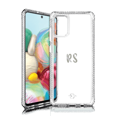 Itskins Hybrid Clear Case for Samsung Galaxy A71 (Clear) Case CUSTOMISE