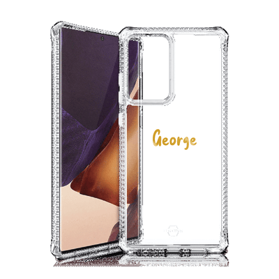 Itskins Hybrid Clear Case for Samsung Galaxy Note 20 Ultra (Clear) Case CUSTOMISE