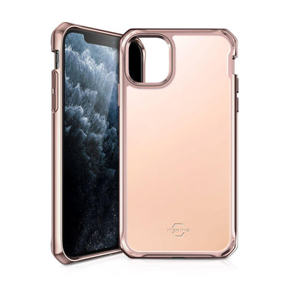 Itskins Hybrid Glass Case for iPhone 11 Pro Max (Rose Gold) Case CUSTOMISE