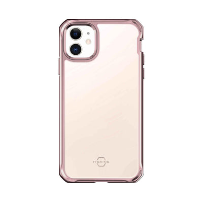 Itskins Hybrid Glass Case for iPhone 11 (Rose Gold) Case CUSTOMISE